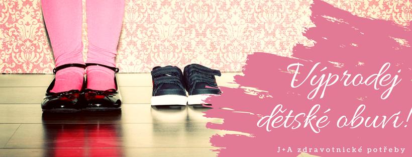 Výprodej dětské obuvi - J+A 36107af215